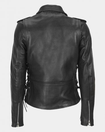 Leather Classic asymmetrical Cycle Jacket MotoGP Leather Jackets Free Shipping