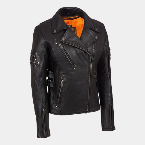 Leather Biker Jacket Motorbike Collection Free Shipping