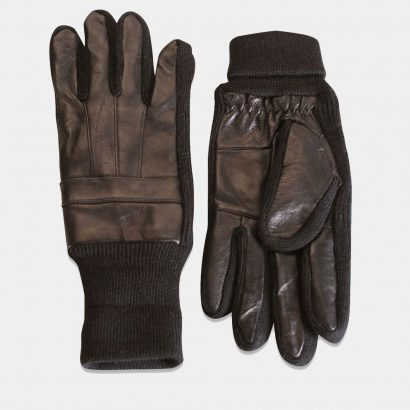 Mens Real Leather Gloves cuff Fashion Collection Free Shipping