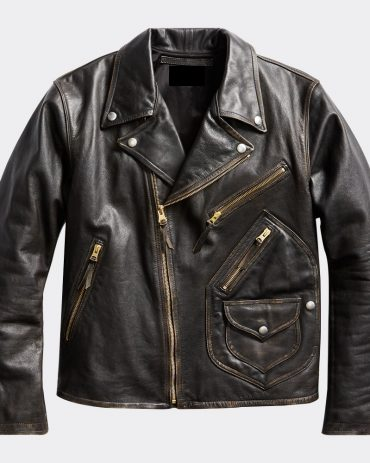 Rrl Double Rl Ralph Lauren Limited Edition Leather Motorcycle Jacket Motorcycle Collection Free Shipping