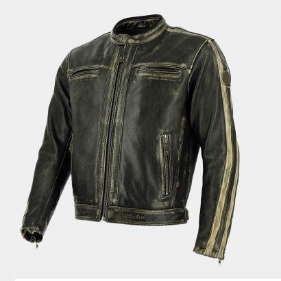Black Leather Bomber Motorcycle Jacket MotoGP Leather Jackets Free Shipping