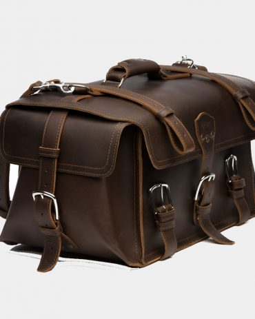 saddlebackleather Side Pocket Leather Duffel Bag Bags Free Shipping