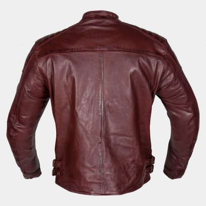 Red light Leather Motorcycle Jacket MotoGP Leather Jackets Free Shipping