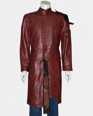 Star Lord Costume Celebrities Leather Jackets Free Shipping