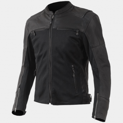 Street & Steel Eastwood Motorcycle Leather Jacket Motorcycle Collection Free Shipping
