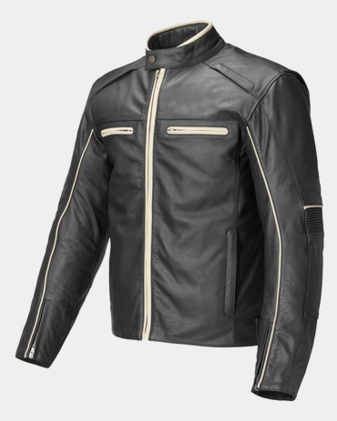Monmouth Motorcycle Leather Jackets Motorbike Jackets Free Shipping