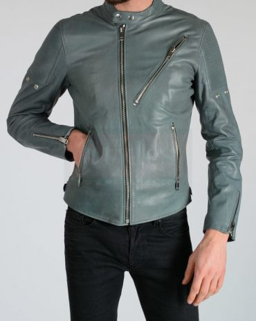 Diesel L-Mackson Men's Leather Jackets Fashion Collection Free Shipping