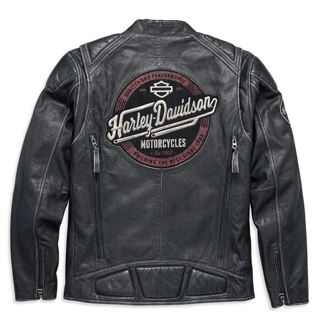 Harley-Davidson Men's Benson Lightweight Leather Jacket