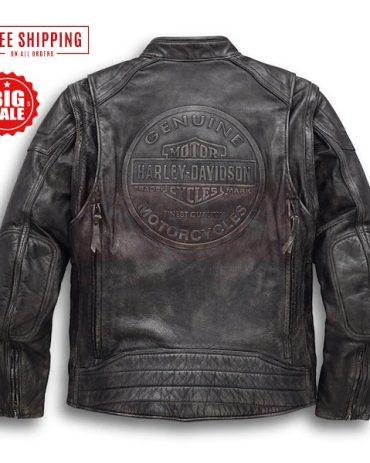 Harley Davidson Victory Lane Motorcycle Jacket Motorbike Jackets Free Shipping