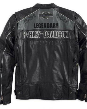 Harley Davidson Horizon HB Leather Jacket Motorcycle Collection Free Shipping