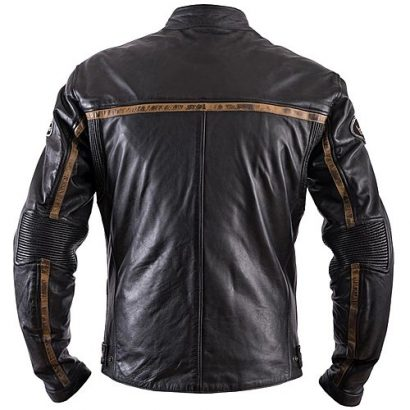 Moto Style Helstons Daytona Leather Motorcycle Jacket Motorcycle Collection Free Shipping