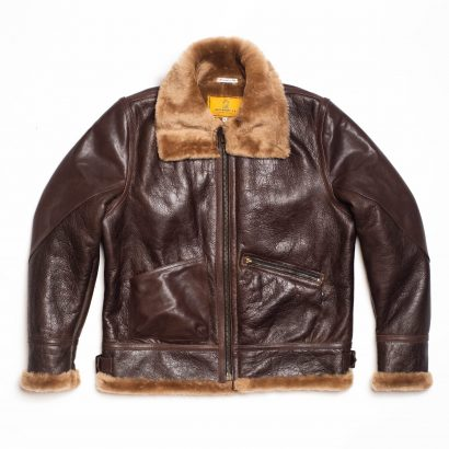 US Made Shearling B3 Flight Leather Jackets For Men Fashion Collection Free Shipping
