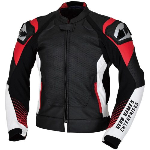 Motorcycle Jacket Durable Cowhide Leather 2018 Motorbike Jackets Free Shipping