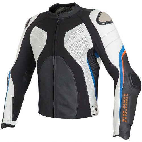 Motorcycle Jacket with Cowhide Leather Motorcycle Collection Free Shipping