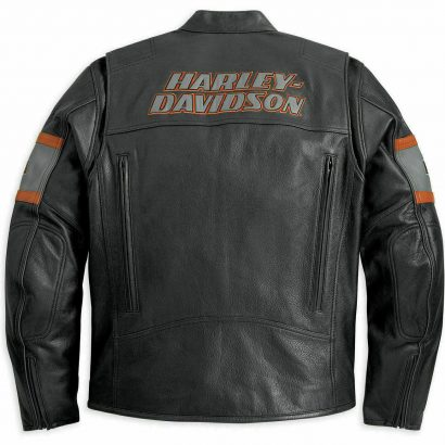 Men Harley Davidson Motorcycle Screaming Eagle Cowhide Leather Biker Jacket (Copy) Fashion Collection Free Shipping