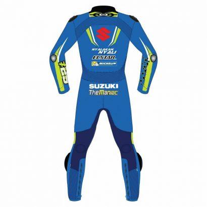 Suzuki Ecstar MotoGP 2018 Motorbike Leather Racing Suit Fashion Collection Free Shipping