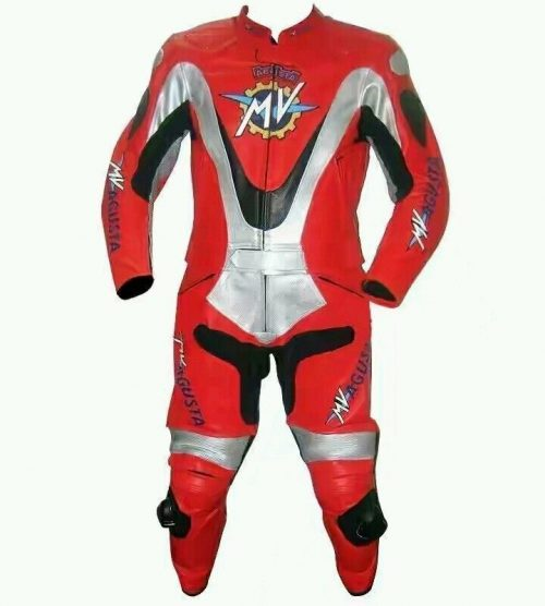 MV AGUSTA Motorbike Racing Leather Suit Fashion Collection Free Shipping