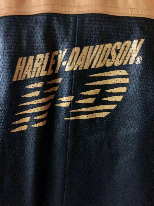 Harley Davidson Men Leather Reflective Riders Jacket Motorcycle Collection Free Shipping