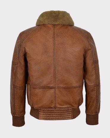 Men's Air Force Fur Collar Bomber Jacket Fashion Jackets Free Shipping