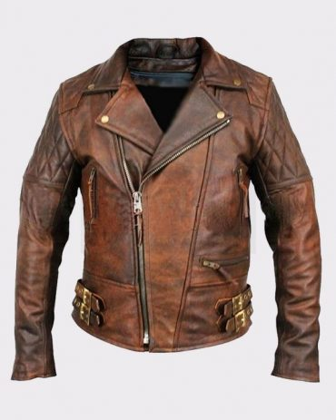 Men's Lambskin Motorcycle Bomber Leather Jacket Fashion Jackets Free Shipping