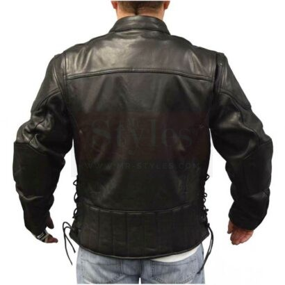 Redline Men's Touring Leather Motorcycle Jacket w/ Gator Lining Fashion Collection Free Shipping