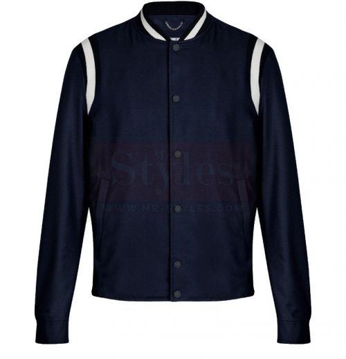 Embroidered Varsity Jacket Fashion Jackets Free Shipping