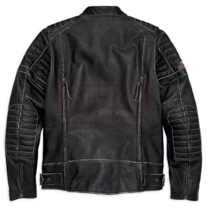 Harley-Davidson Men's Screamin' Eagle Leather Jacket Fashion Collection Free Shipping