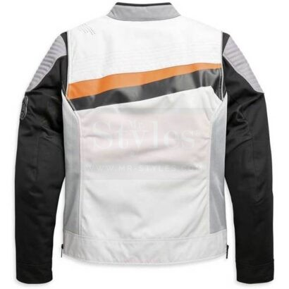 Harley-Davidson Men's Sidari Mesh & Textile Slim Fit Riding Jacket Fashion Collection Free Shipping