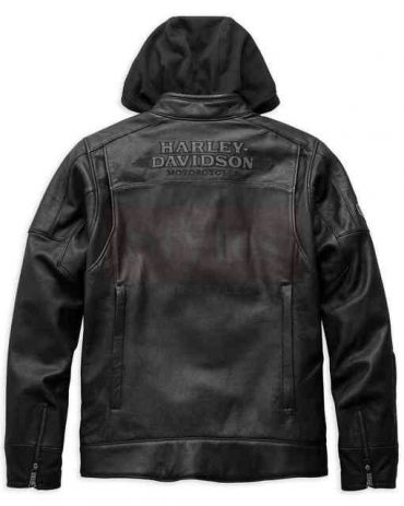 Harley-Davidson Men's Swingarm 3-IN-1 Leather Jacket Fashion Collection Free Shipping