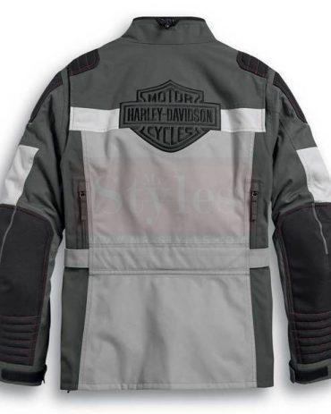 Harley-Davidson Men's Vanocker Colorblock Waterproof Riding Jacket Fashion Collection Free Shipping