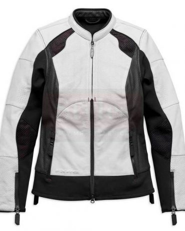 Harley-Davidson Women's FXRG Perforated Leather Jacket, Fashion Collection Free Shipping