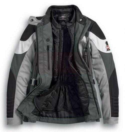 Harley-Davidson Women's Vanocker Waterproof Riding Jacket Fashion Collection Free Shipping