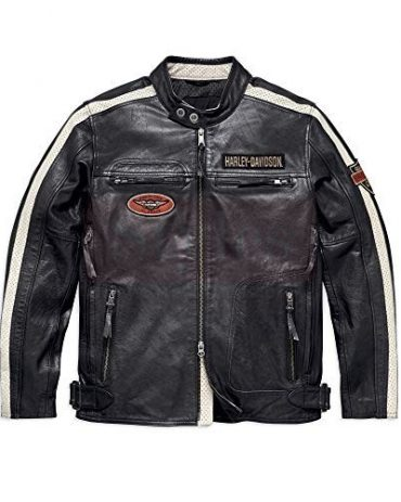 Men's Sidari Leather Jacket Fashion Collection Free Shipping
