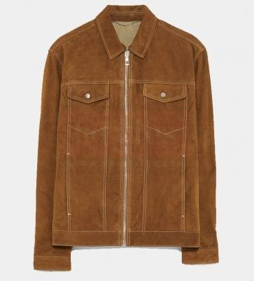 Mr-Styles Suede Western Leather Jacket Fashion Collection Free Shipping