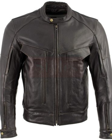 Redline Men's Armor Black Piping Motorcycle Functional Jacket Fashion Collection Free Shipping