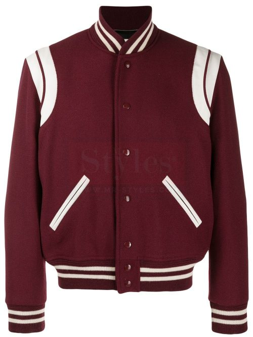 varsity-style bomber Fashion Jackets Free Shipping