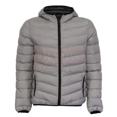 Men's Winter Warm Puffer Leather Coat Puffer Jackets Free Shipping