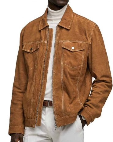 MR-STYLES SUEDE WESTERN JACKET FOR MEN Western Jacket Free Shipping