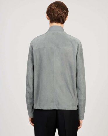 Men's Soft Grey lightweight Windbreaker western jacket Western Jacket Free Shipping