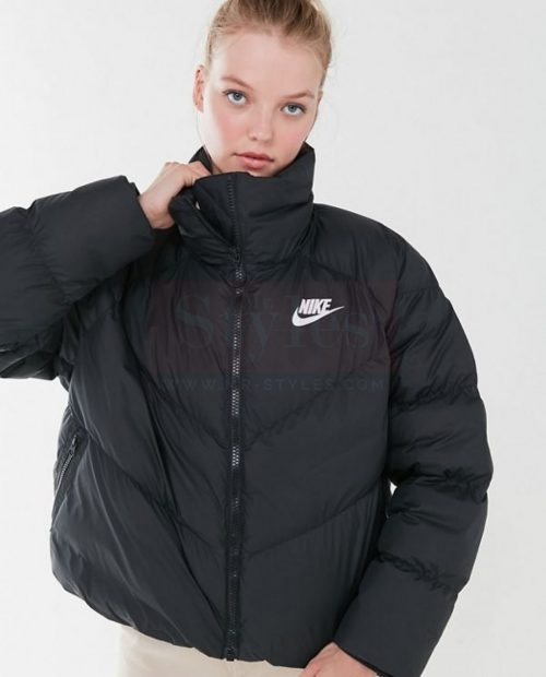women's Nike Leather Puffer Jacket Puffer Jackets Free Shipping