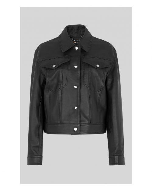 Lamb Western Leather Jacket For Men's Western Jacket Free Shipping