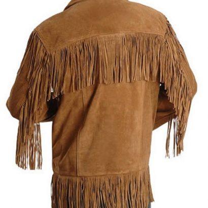 Leatheray Men's Western cowboy jacket with Fringes Western Jacket Free Shipping