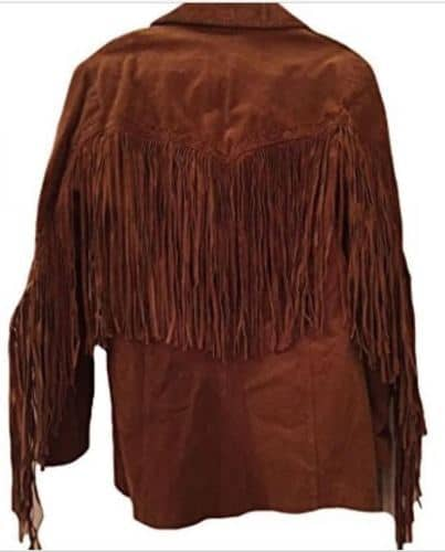 Eagle Beads Western Cowboy Suede Leather Jacket Western Jacket Free Shipping