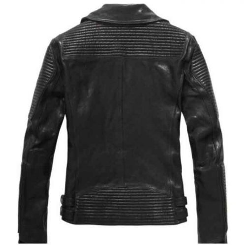 New Ribbed Leather Jacket For Mens New Fashion Fashion Jackets Free Shipping