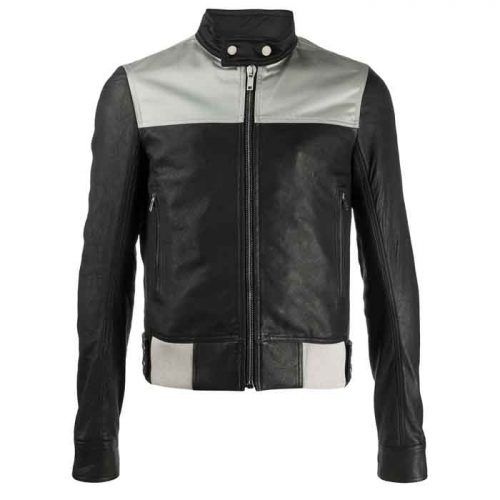 New Fashion fitted leather jacket for Men's Fashion Jackets Free Shipping