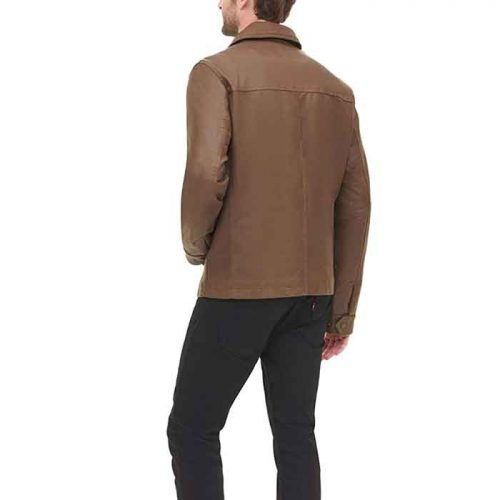 Dockers Men's James Real Leather Jacket Fashion Jackets Free Shipping
