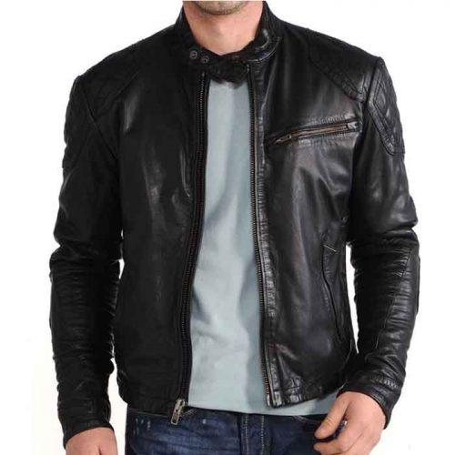 Best Biker Fashion Jacket -100% Leather Fashion Jackets Free Shipping