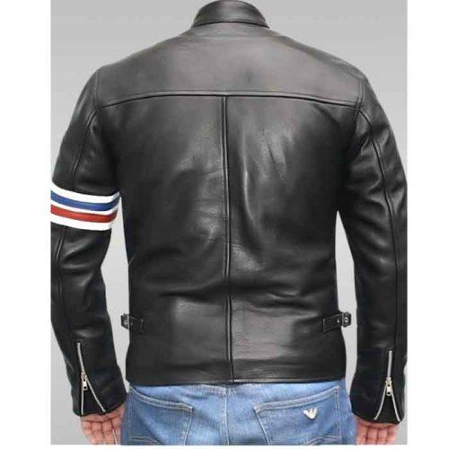 Men's Motorbike Leather Jacket Motorbike Collection Free Shipping