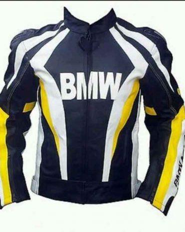 BMW 2021 MODEL MOTORBIKE/MOTORCYCLE LEATHER JACKET Motorbike Collection Free Shipping