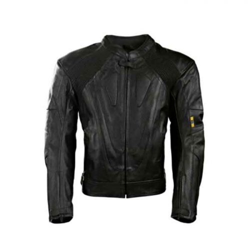 Mens Black Racing Protection Motorbike Leather Jacket Motorcycle Armour Motorbike Collection Free Shipping